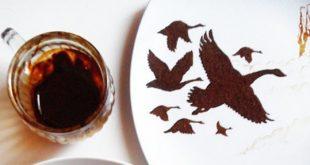 شاهکاری بزرگ با طراحی قهوه