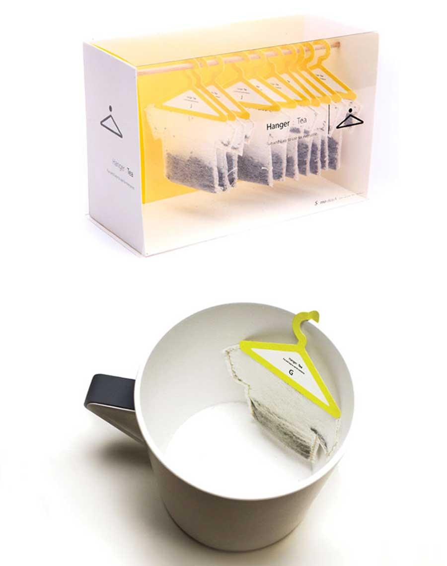 چای کیسه ای با طراحی خلاقانه