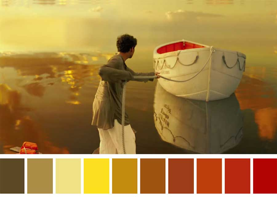 صحنه های معروف فیلم ها که طیف رنگی خاصی دارند