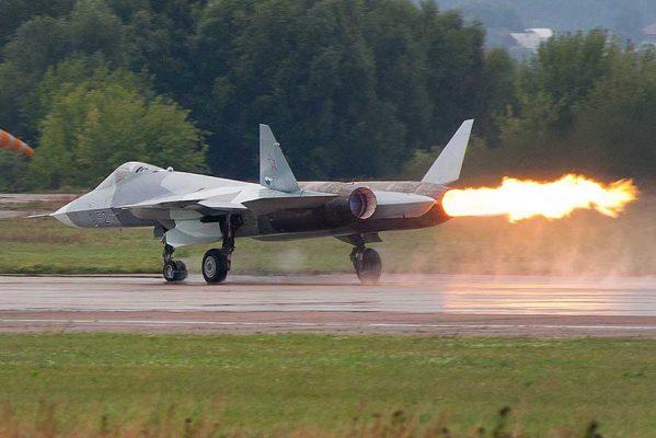 جنگنده روسی سوخو تی 50 مدل PAK-FA (1)