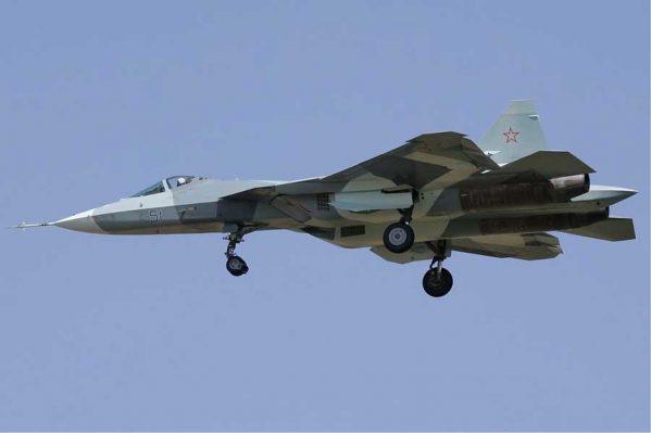 جنگنده روسی سوخو تی 50 مدل PAK-FA (2)
