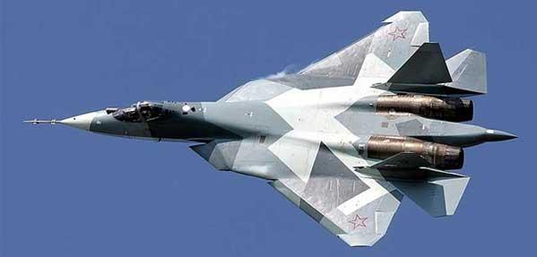 جنگنده روسی سوخو تی ۵۰ مدل PAK-FA