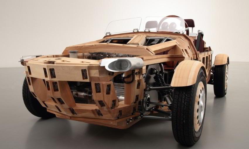 ست سونا خودروی مفهومی و چوبی تویوتا