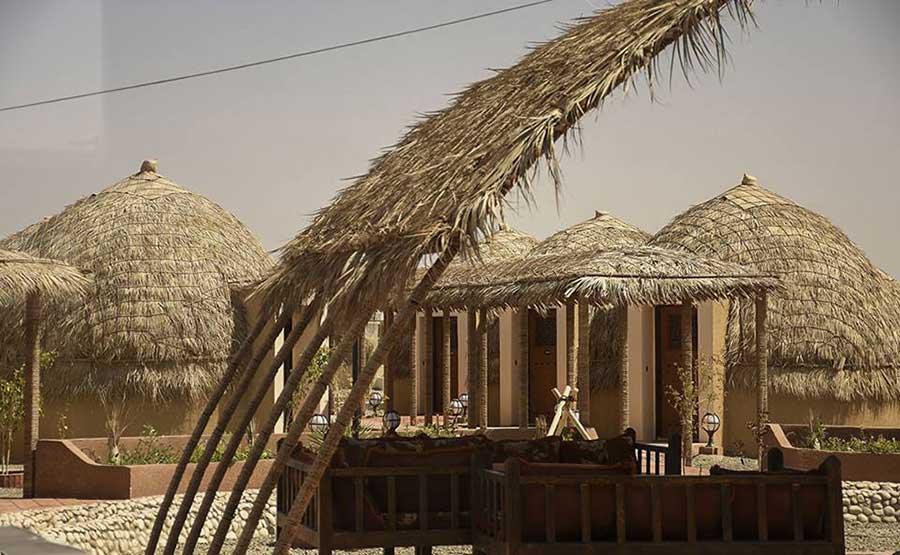 تصاویری از اولین هتل کپری در کرمان
