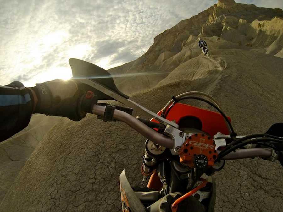 موتور سواری در سالت لیک سیتی