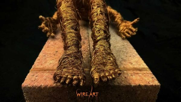 تصاویری از مجسمه سازی با سیم artwire