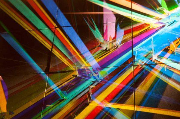 نقاشی با نور هنر منحصربفرد استفان نپ در قرن 21