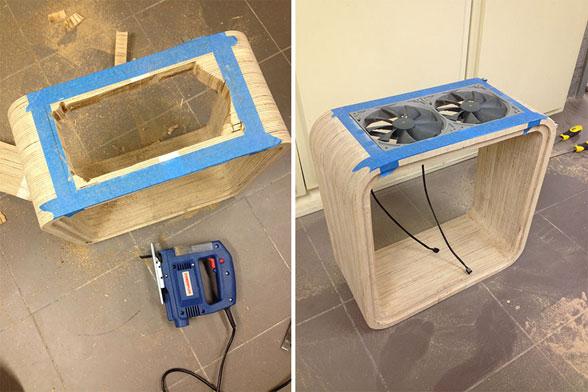 کامپیوتر چوبی