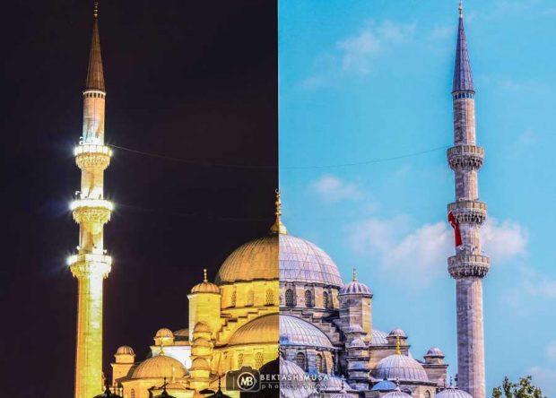 تصاویری از پروژه عکاسی استانبول در روز و شب