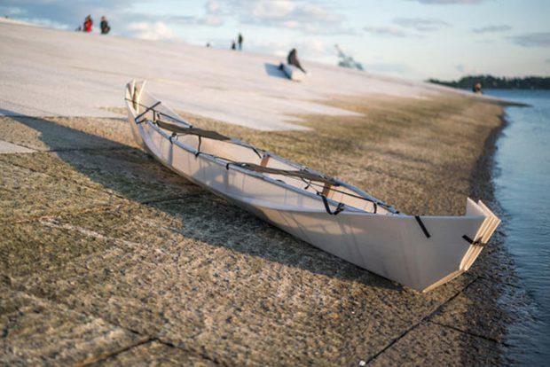 طراحی قایق کانو با الهام از هنر اوریگامی