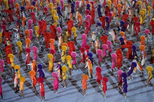 مراسم افتتاحیه المپیک 2016 ریو
