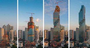 بلندترین آسمان خراش تایلند
