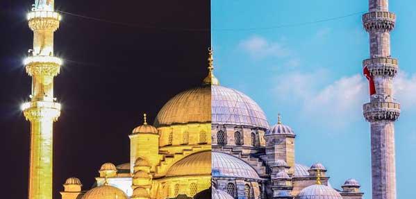 استانبول در روز و شب