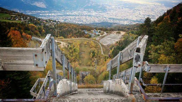 مکان های مترکه شده در المپیک های قبلی