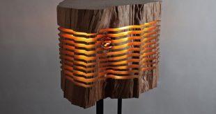 لوستر های چوبی