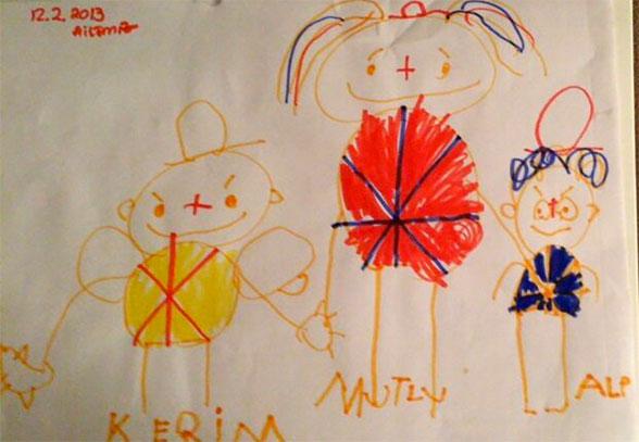 تبدیل نقاشی کودکان به اشیای قیمتی