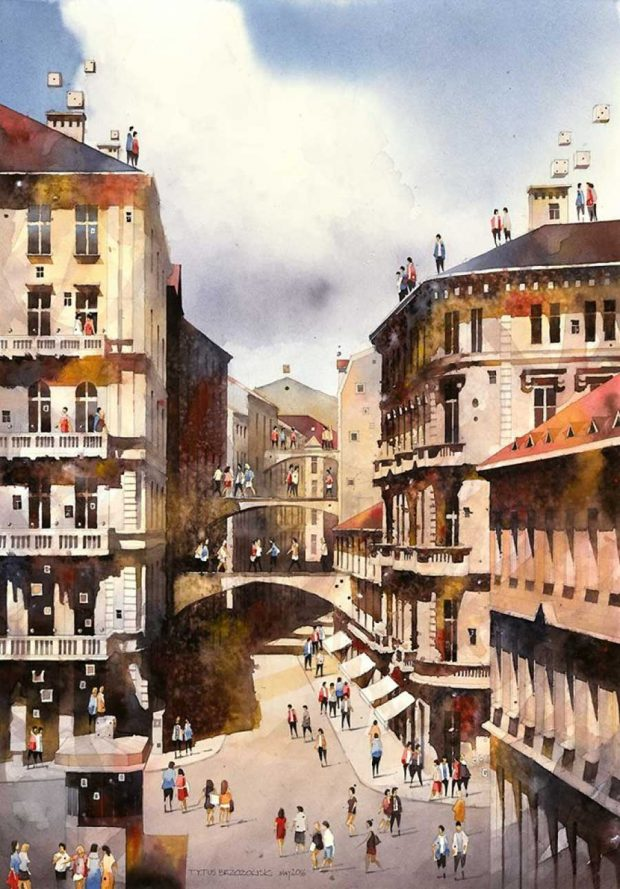 Artist-from-Poland-nostalgic-for-19th-Century-Warsaw-recreates-it-in-watercolour-57c689eaba3d7__880