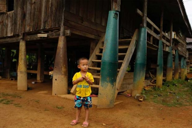 Lethal legacy of secret war in Laos (3)