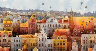 نقاشی شهر ورشو