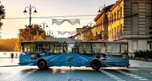 هنر خیابانی روی اتوبوس