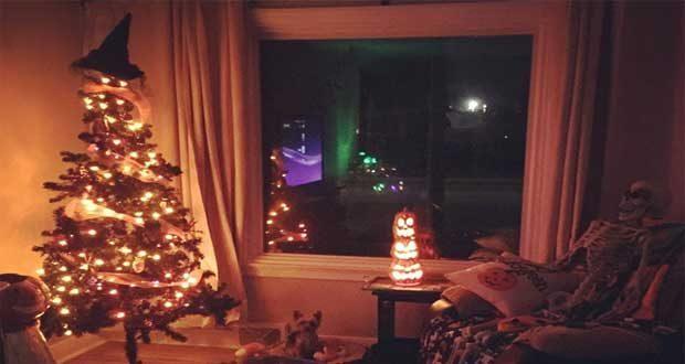 درختان کریسمس هالووین