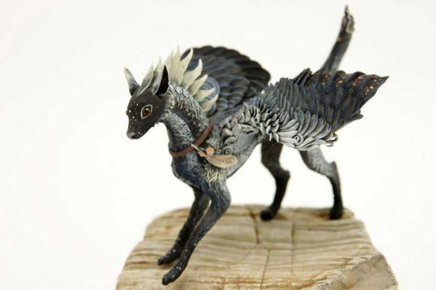 تصاویری از ساخت مجسمه حیوانات با خاک رس نرمتصاویری از ساخت مجسمه حیوانات با خاک رس نرم