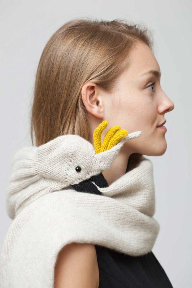تصاویری از شال گردنهای عجیب و غریب