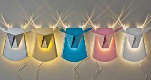 لامپ و مقوا