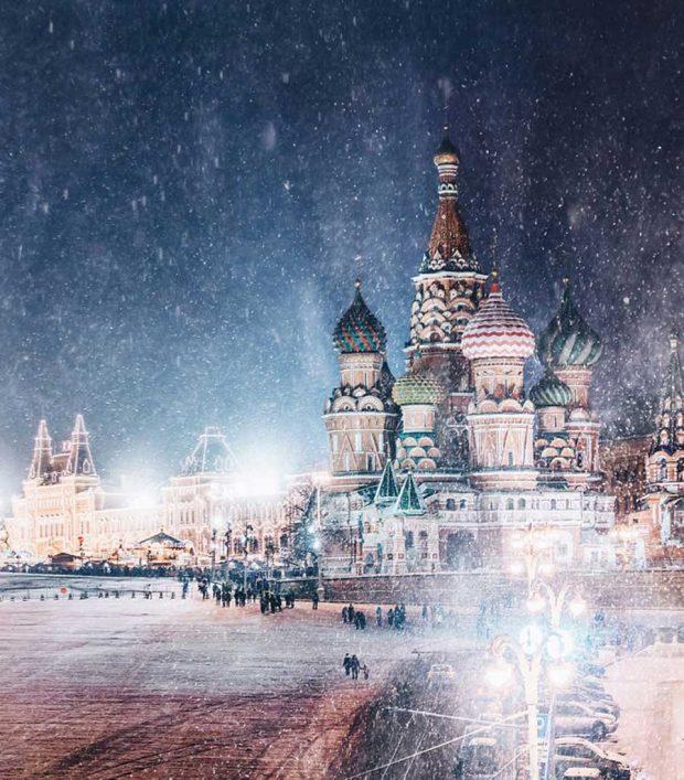 نگاهی به عکس های زمستانه مسکو شهری شاهانه و زیبا نگاهی به عکس های زمستانه مسکو شهری شاهانه و زیبا