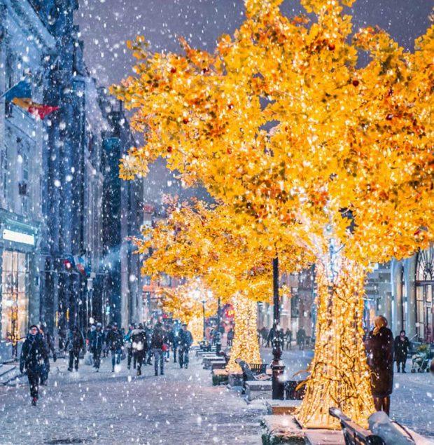 نگاهی به عکس های زمستانه مسکو شهری شاهانه و زیبا