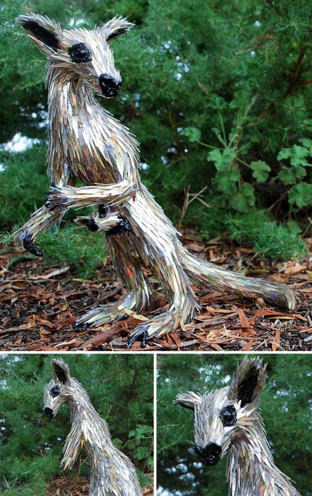 ساخت مجسمه خلاقانه