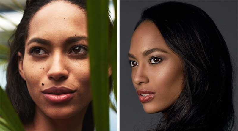 دخترهای شایسته جهان قبل و بعد از آرایش