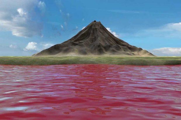 دریاچه مرموز ناترون در تانزانیا