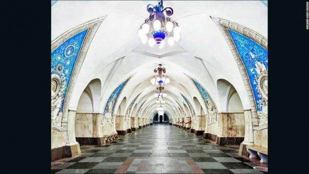 زیباترین ایستگاه های مترو