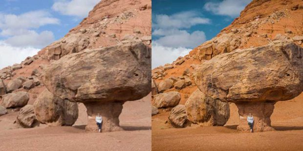 تفاوت های JPEG و RAW
