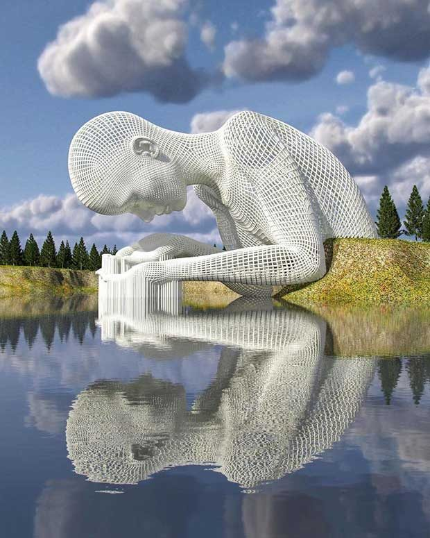 مجسمه های سه بعدی دیجیتال
