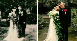 بازآفرینی عکس های عاشقانه قدیمی