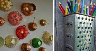 استفاده خلاقانه و کارآمد از وسایل قدیمی