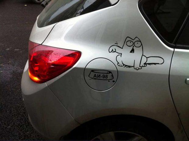 تصاویر دیدنی از خلاقیت صاحبان خودروها