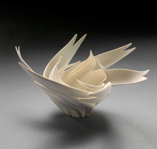 طراحی ظروف چینی شیک و زیبا با الهام از طبیعت و اقیانوس