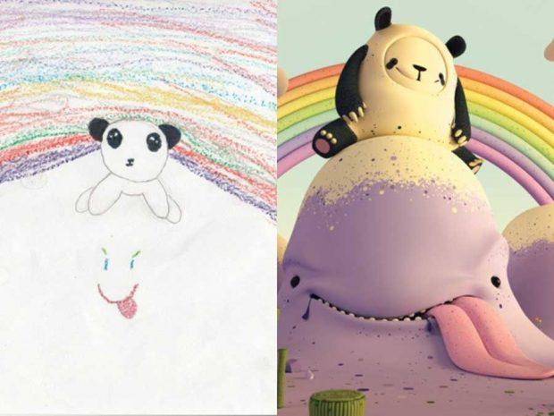ساخت اسباب بازی از روی نقاشی