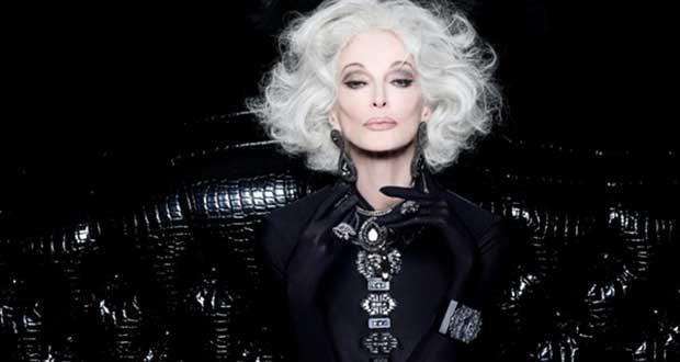 پیر ترین مدل زن جهان