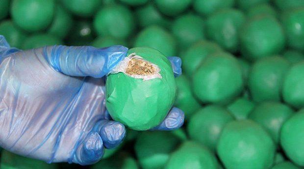 قاچاق مواد مخدر با منجنیق